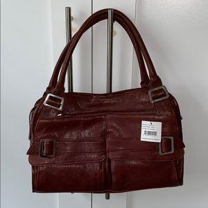 REAL vintage Kooba bag. Berry color NWT & dust bag